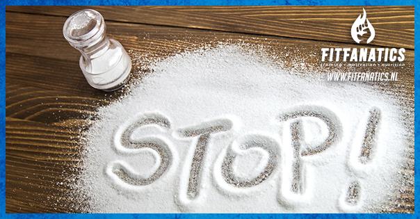 Te veel zout is niet gezond