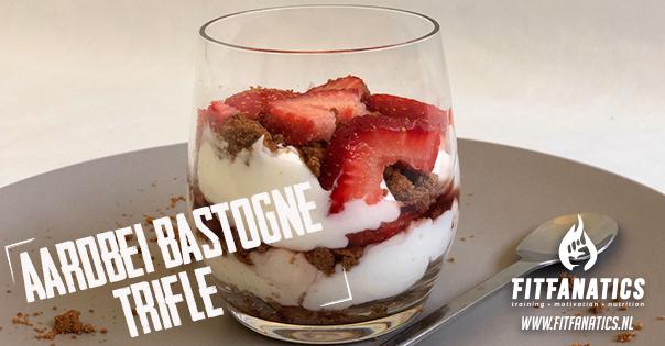 Aardbei bastogne trifle