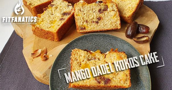 mango dadel kokos cake